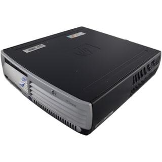 HP Compaq dc7700 uSFF 3.0GHz Intel Core 2 2GB DDR2 80GB Windows 7 Home Premium 32-Bit Grey and Black PC (Refurbished)