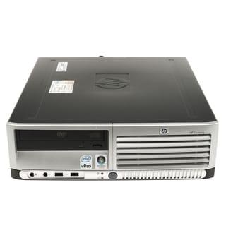 HP Compaq dc7700 SFF 1.86GHz Intel Core 2 2GB DDR2 160GB Windows 7 Home Premium 32-Bit Grey and Black PC (Refurbished)