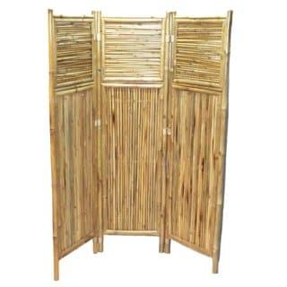 Bamboo Geometric Screen/ Room Divider (Vietnam)