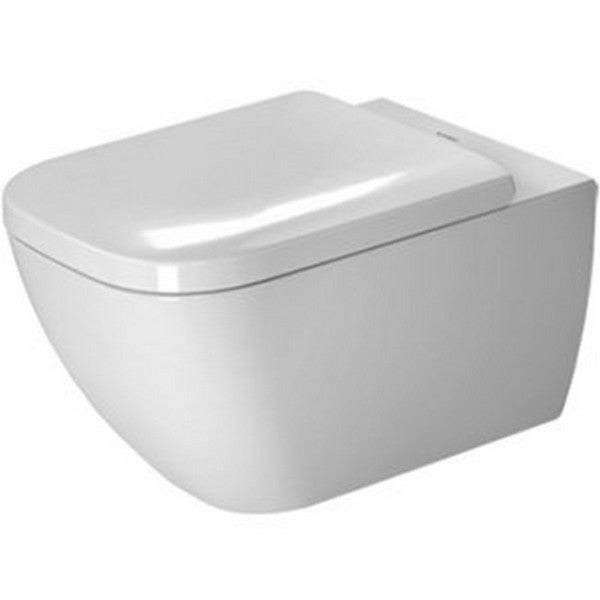 Duravit Rimless Toilet Wall-mounted 14 3/8-inch x 21 0.25-inch White Alpin
