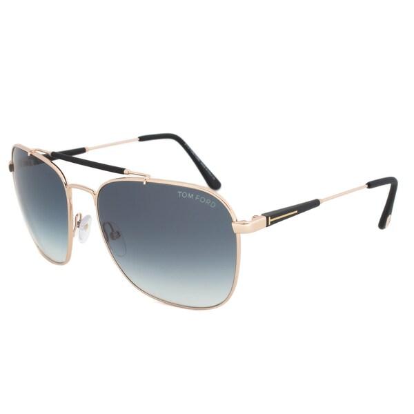 Tom Ford FT377 28W Edward Pilot Sunglasses