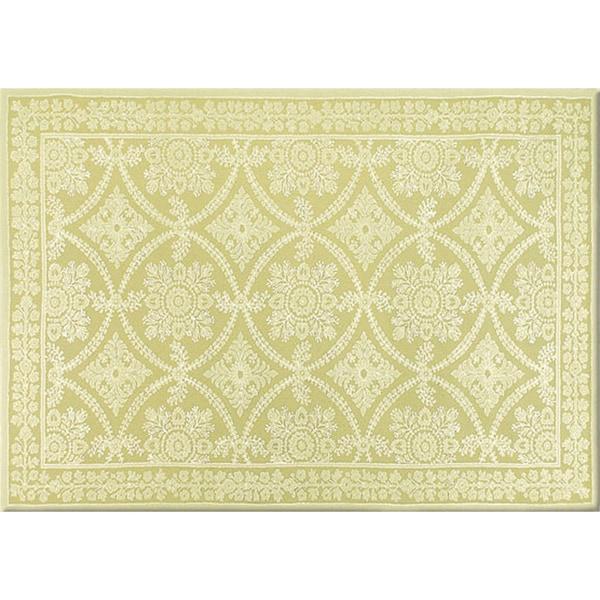 Handmade Romantic Wool Lace Rug (7'9 x 9'9)