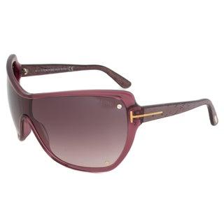 Tom Ford FT0363 71Z Ekaterina Womens Oversized Shield Sunglasses