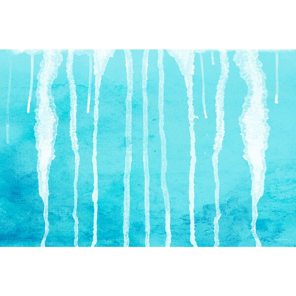 Maxwell Dickson 'Drips' Modern Canvas Wall Art