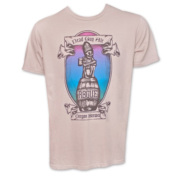 Rogue Dead Guy Ale Grey T-Shirt