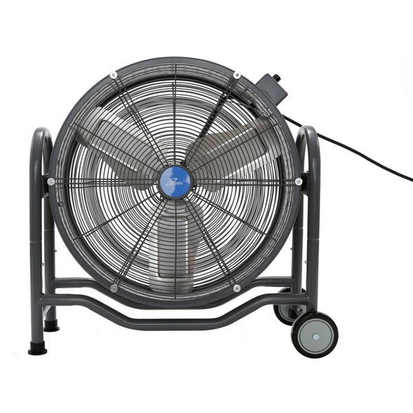 iLIVING 115V 24-inch BLDC Air Circulator High Velocity Floor Fan 17461001