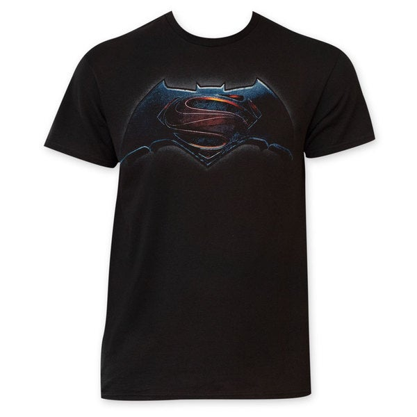 Batman vs. Superman Men's Black T-Shirt