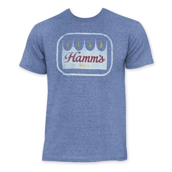 Hamm's Premium Beer Blue T-Shirt