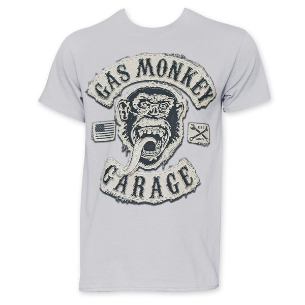 Gas Monkey Garage Men's Grey T-Shirt