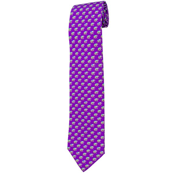 Davidoff Fushia Twill Silk Neck Tie