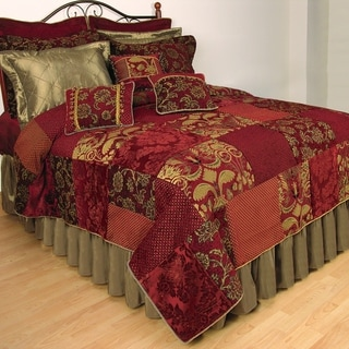Renaissance Patchwork Cotton Standard Sham