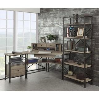 Inspire Q Nelson Industrial Modern Rustic Storage Desk