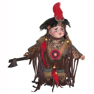 Cherish Crafts Antiman 12-inch Porcelain Doll