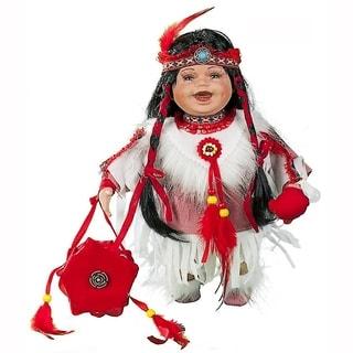 Cherish Crafts Ayita 12-inch Porcelain Native American Doll
