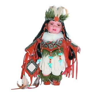 Cherish Crafts Nova 12-inch Porcelain Native American Doll