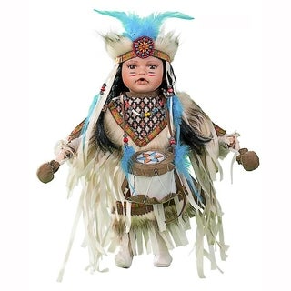Cherish Crafts Aniya 16-inch Porcelain Native American Doll
