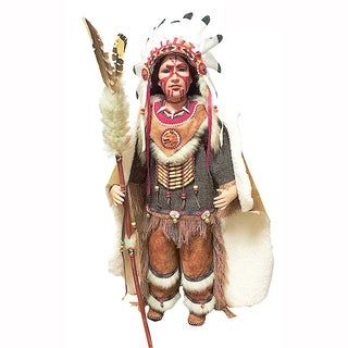 Cherish Crafts Big Chief 26-inch Porcelain Doll