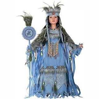 Cherish Crafts Desert Dawn 28-inch Porcelain Native American Doll