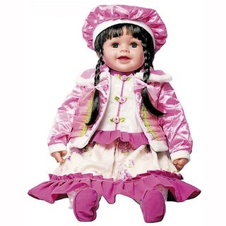 Cherish Crafts Madelyn 25-inch Musical Vinyl Doll