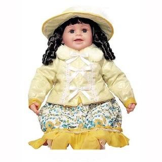 Cherish Crafts Ava 25-inch Musical Vinyl Doll