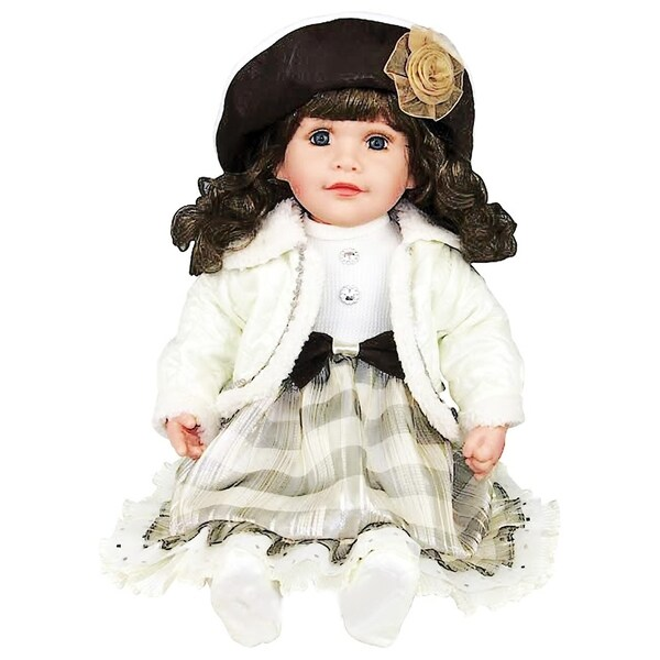 Cherish Crafts Isabella 25-inch Musical Vinyl Doll