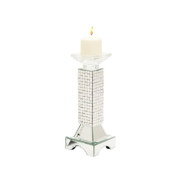 Glass Candle Holder 5-inch x 13-inch