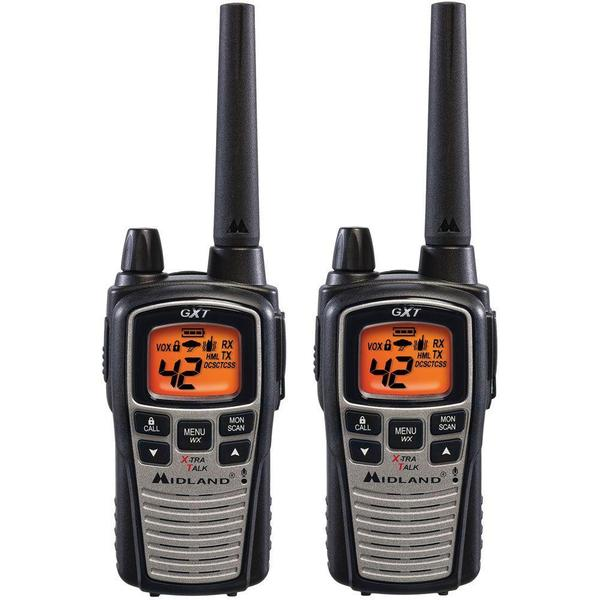 Midland GXT860VP4 42 Channel, 36 Mile Two-Way Radios