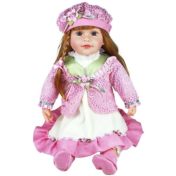 Cherish Crafts Molly 25-inch Musical Vinyl Doll