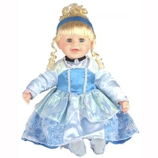 Cherish Crafts Cinderella 25-inch Musical Vinyl Doll
