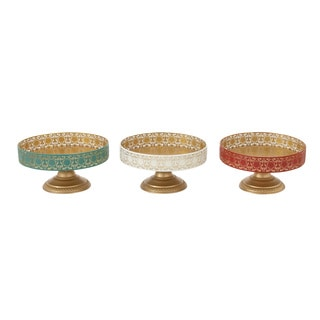 Metal Cupcake Tray 3 Assorted 11-inch x 6-inch