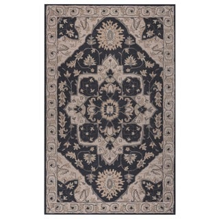 Rizzy Home Valintino Collection Blue/ Grey Medallion Area Rug (5' x 8')