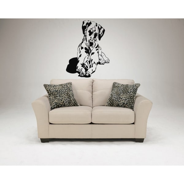 Dalmatian Dog Cutie Wall Art Sticker Decal