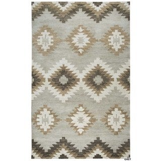 Rizzy Home Leone Collection Southwest Area Rug (9' x 12')
