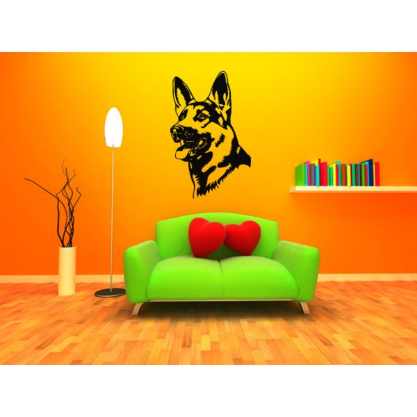 Shepherd Dog Dog Puppy Breed Pet Wall Art Sticker Decal