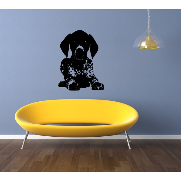Shorthaired Pointer Puppy Wall Art Sticker Decal