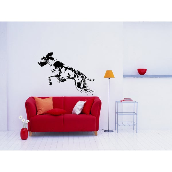 Great Dane Dog Puppy Breed Pet Wall Art Sticker Decal