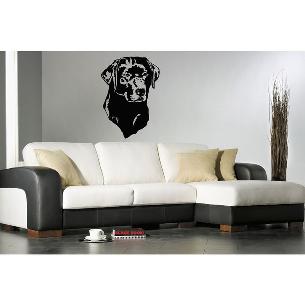 Labrador Retriever Puppy Breed Pet Wall Art Sticker Decal