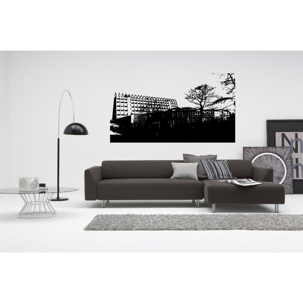 Manchester City Landscape of Modernity Wall Art Sticker Decal