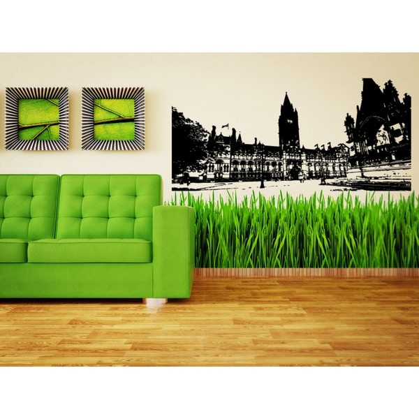 Manchester City Area Road Wall Art Sticker Decal