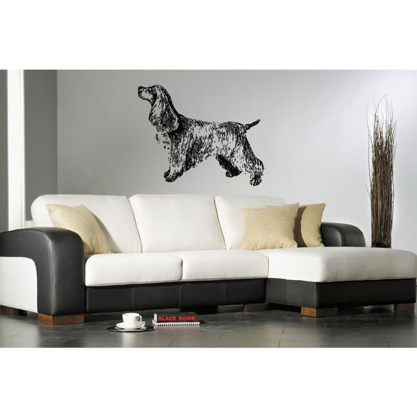 Cocker Spaniel Dog Puppy Breed Pet Animal Wall Art Sticker Decal