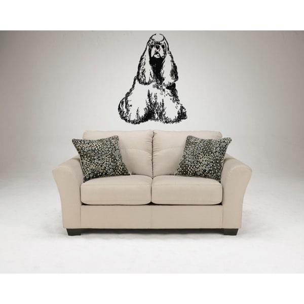 Cocker Spaniel Dog Wall Art Sticker Decal