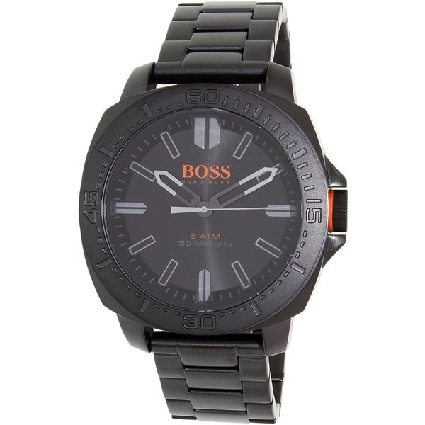 Hugo Boss Men's Black Stainless Steel Sao Paulo 1513241 Quartz Watch