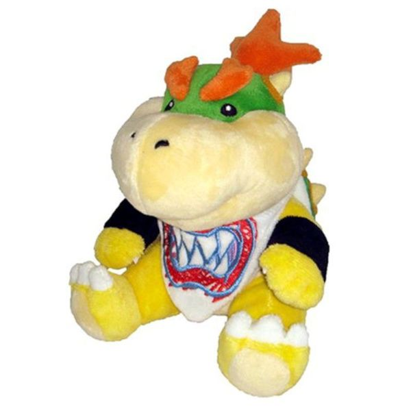 Nintendo 7-inch Super Mario Bowser Jr. Cute Soft Plush Toy