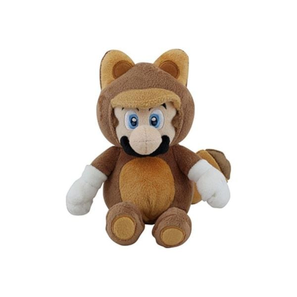 Nintendo 9-inch Super Mario Tanooki Mario Cute Soft Plush Toy