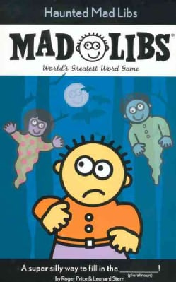 Haunted Mad Libs (Paperback)