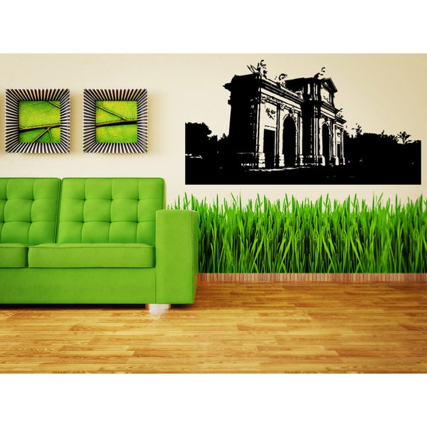 Barcelona City Streets Wall Art Sticker Decal