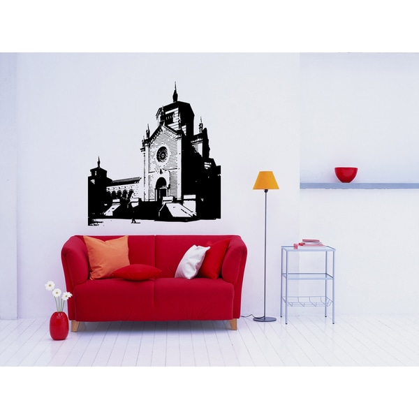 Milan City Monument Wall Art Sticker Decal