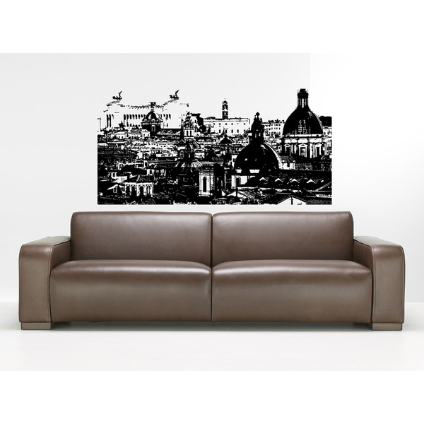 Rome Skyline City Gorgeous view Wall Art Sticker Decal