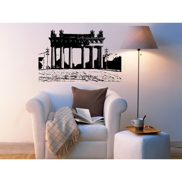 St. Petersburg City Way Street Wall Art Sticker Decal