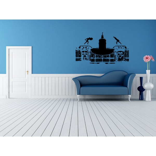 Berlin Skyline City Architecture Wall Art Sticker Decal